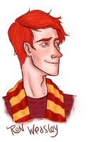 Ron Weasley by Oranjes