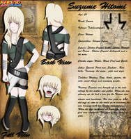 Suzume Hitomi: Reference Sheet by Jempower