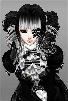Gothic Anime Girl By Nickyateyourskittles