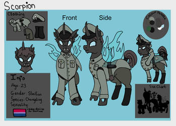 Commission| Scorpion Reference Sheet