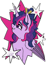 Twilight Sticker Design