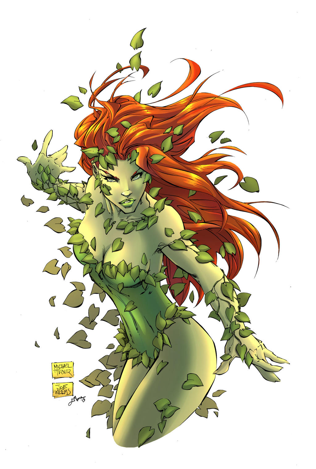 Poison Ivy Colors by HueVille on DeviantArt