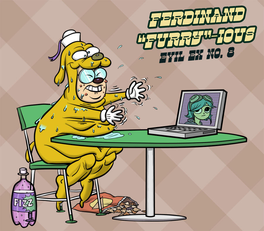 Ferdinand 'Furry'-ious by mbosn