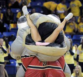 Zooperstar Mackerel Jordan eats a cheerleader by 4thcoming