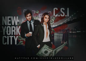 C.S.I Cara and Ian - Graphic by Blue-Holland-Grace