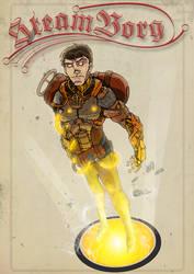 Digital Sketchbook: SteamBorg by Todd3point0