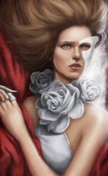 Die Weisse Rose by GerryArthur