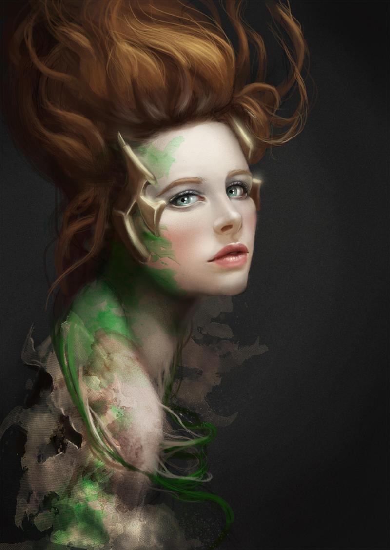 The lady of Fertility by GerryArthur