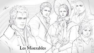 Les Miserables Sketches