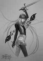 Grimes Fanart by GerryArthur