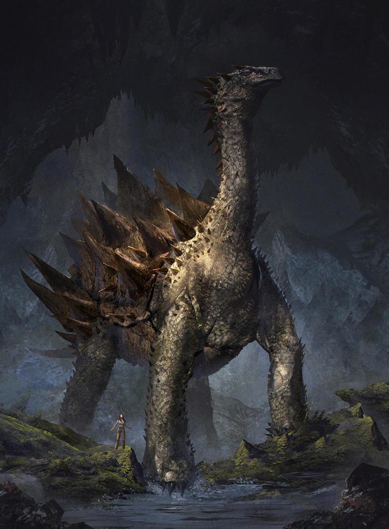Earth Dragon: Earth Dragon By GerryArthur On DeviantArt