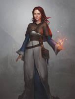Scarlett Hywel by GerryArthur