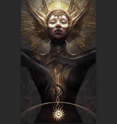Divine Victoria of 9:42 Dragon by GerryArthur