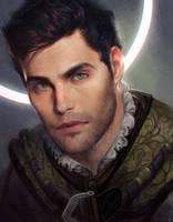 Portrait Commission : Ser Corwyn by GerryArthur