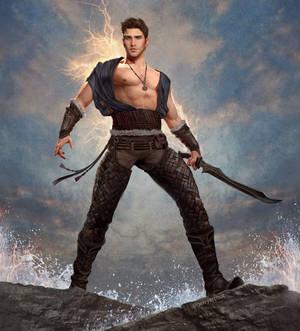Rhys, Wielder of the Amber Lightning