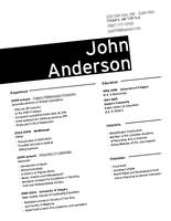 Client Resume C by christamr