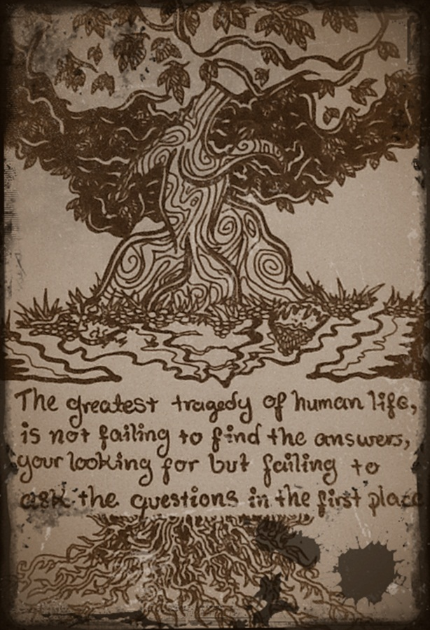 Le tree of thought by Lablackandwhite