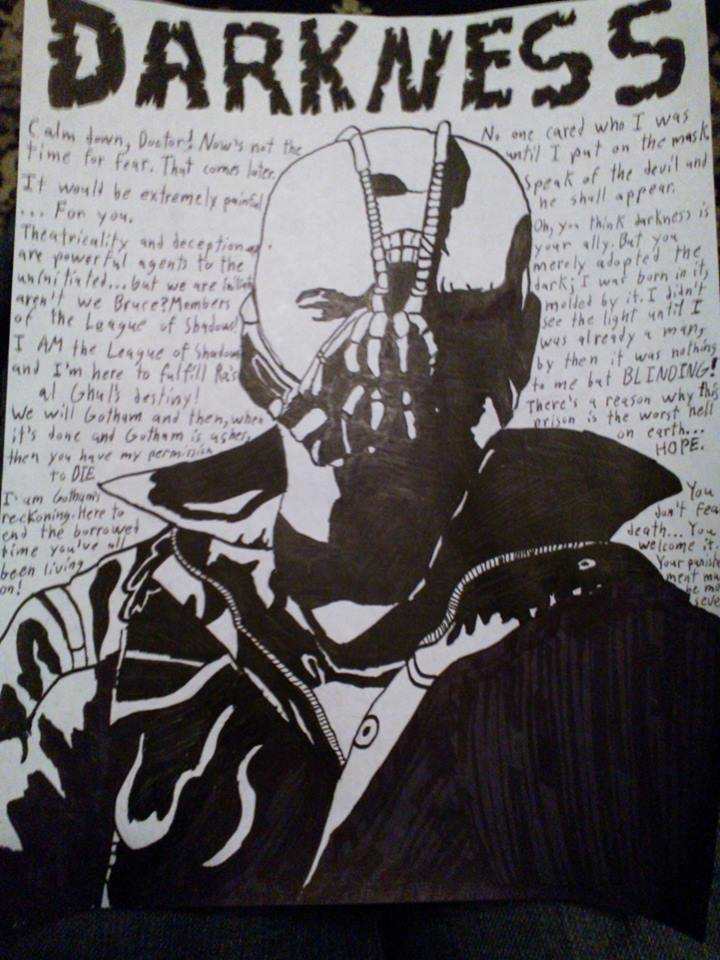 Bane S Quotes Poster By Aborigene7 On Deviantart