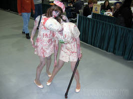 Silent Hill Nurses ECCC 2010 by jhwood9