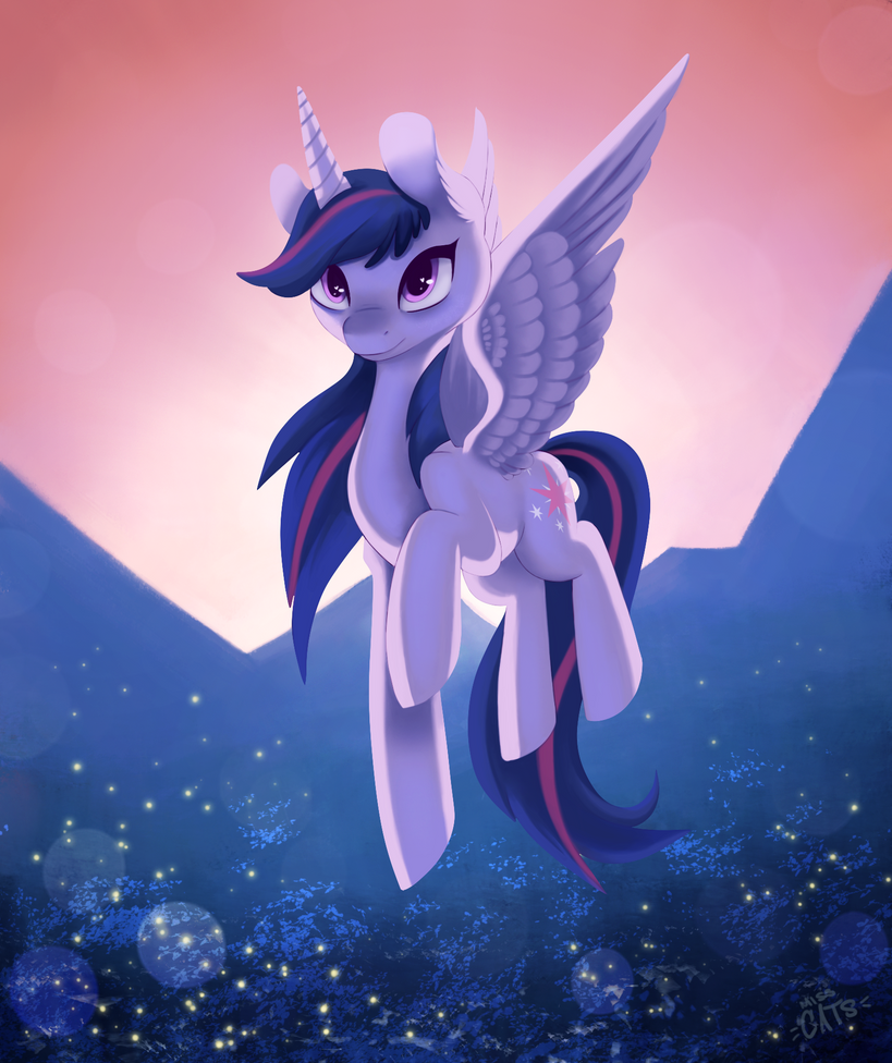 twilight_sparkle___day_47_by_miss_cats-d