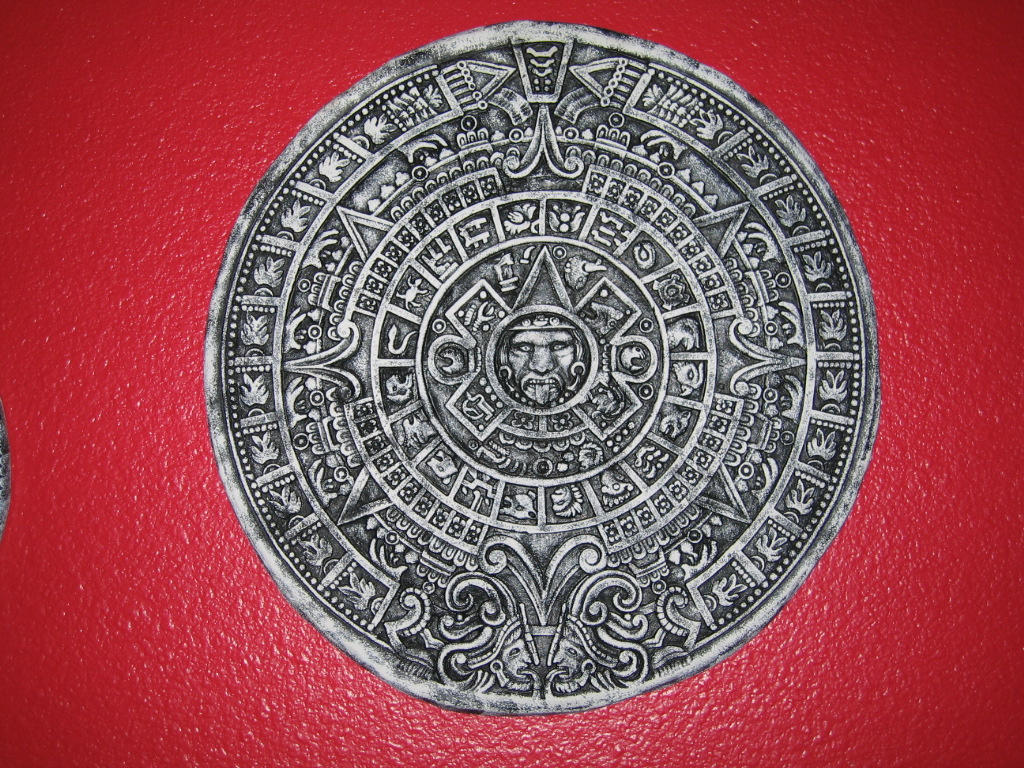 Aztec Calendar 1 by lured2stock