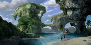 Vast islands