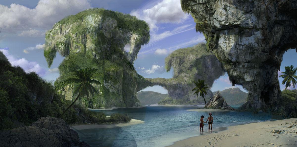 Vast islands by TylerEdlinArt