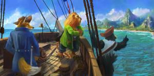 adventure commission by TylerEdlinArt