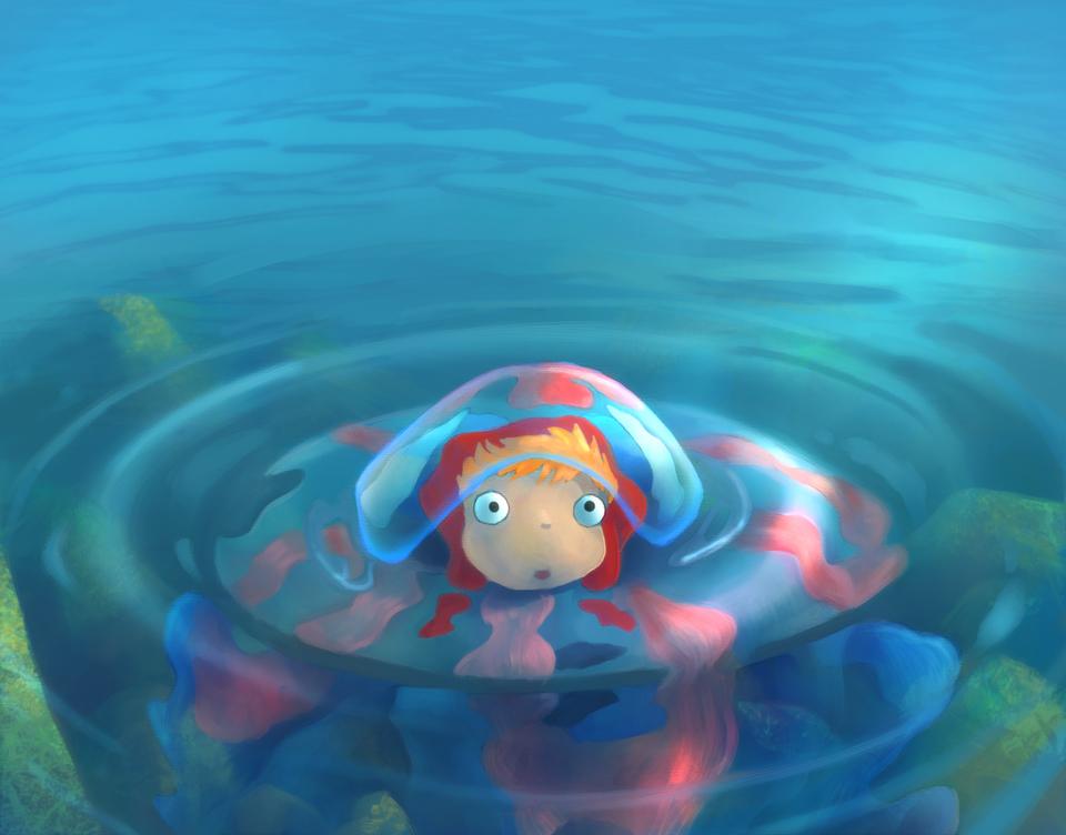 Little ponyo by TylerEdlinArt