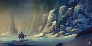 barren landscape001 by TylerEdlinArt