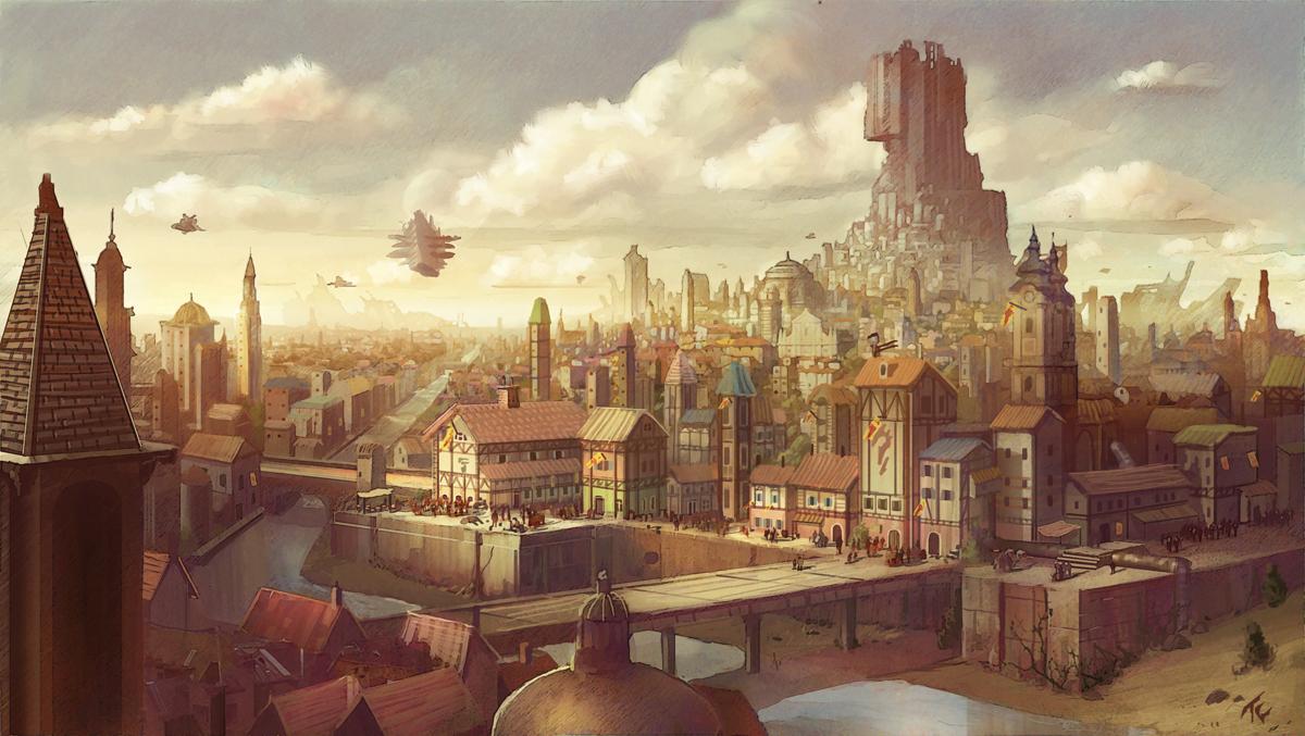 Empire City by TylerEdlinArt