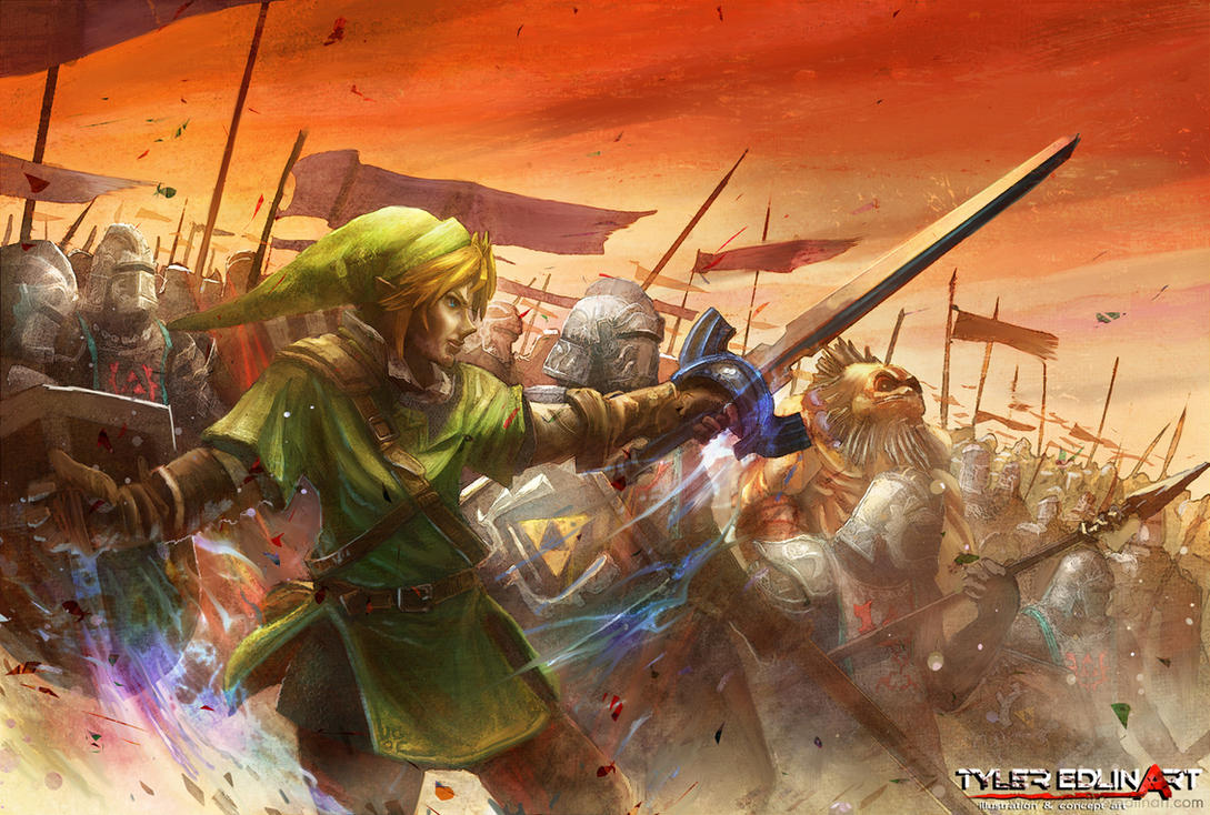 Zelda: The Last Hyrulian War by TylerEdlinArt