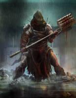 executioner by TylerEdlinArt
