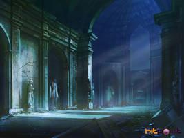 deserted chapel concept by TylerEdlinArt