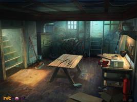 basement bg by TylerEdlinArt