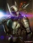 escadian dragoon by TylerEdlinArt