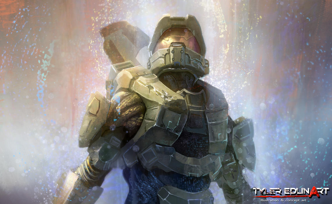HALO 4 by TylerEdlinArt