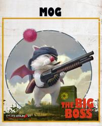 Mog the big boss by TylerEdlinArt