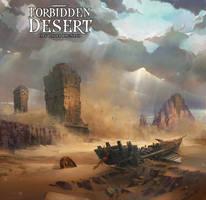 Forbidden desert Illustraion by TylerEdlinArt