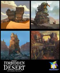 forbidden desert sample tiles