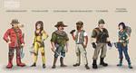 Forbidden desert characters
