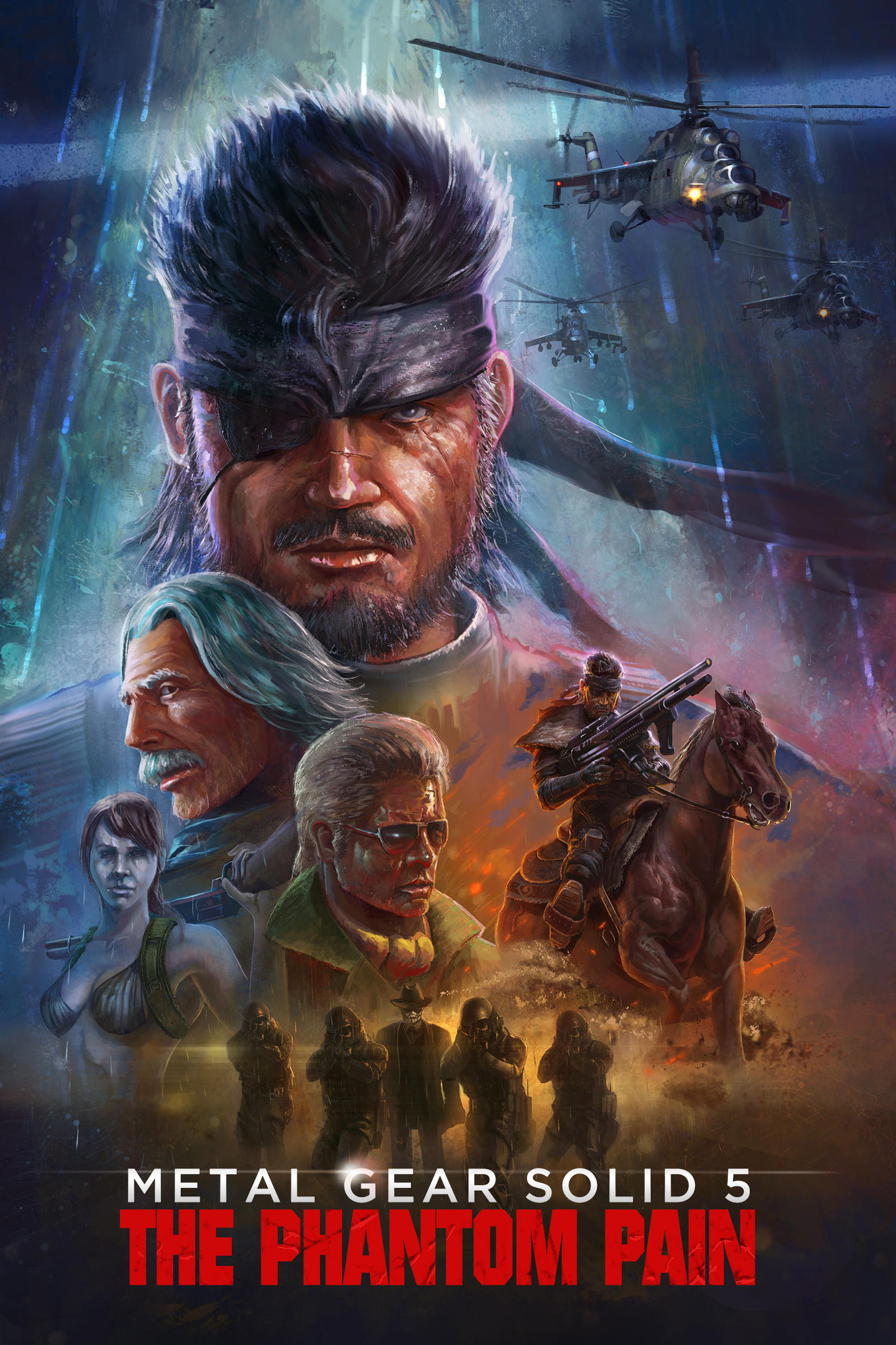 MGS 5 the VHS co...Quiet Please Game