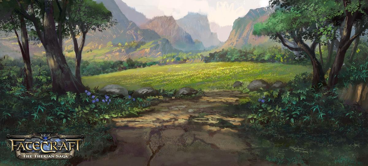fatecraft Hill Tile by TylerEdlinArt