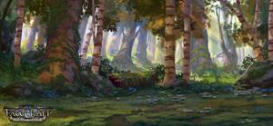Fatecraft Forest Illustration by TylerEdlinArt