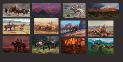 James Reynolds color studies by TylerEdlinArt