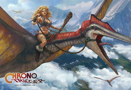 Ayla the dino rider