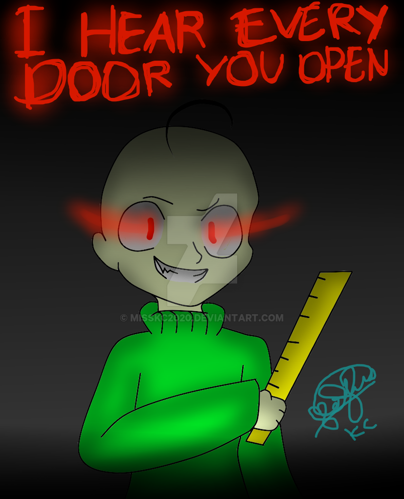 baldi basics fanart by misskc2020 on deviantart