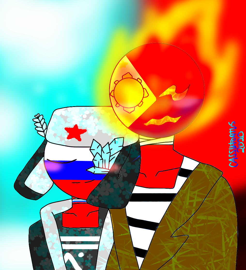 Martial Law X Russia Nighttime Au By Misskc2020 On Deviantart