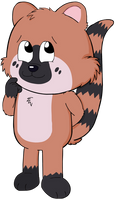 Coati by SuziethePuffball