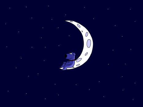 Chillaxin' on the Moon